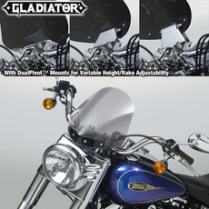 Gladiator® Height/Rake Adjustable Windshield for Harley-Davidson® N2713