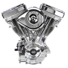 S&S V124 Engine - Fully Polished - S&S Super G Carb - IST Ignition