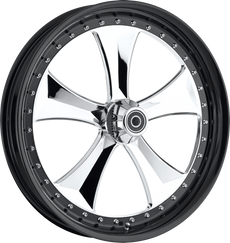 Straight Spoke Motorcycle Wheel - RPM-13 MD Finish made by Colorado  Custom