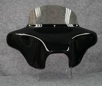 "Batwing Classic Fairing - 6"" x 9"" Speakers + Stereo - Regular Headlight Opening"