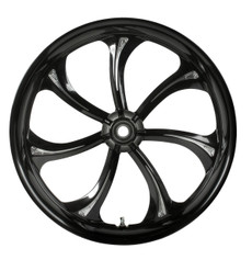 Colorado Customs Manhattan 7-spoke twirled swirled wheel - clean, crisp look