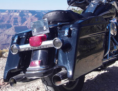 Stretched Hard Saddlebags for RoadKing (R)