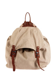[Sample] Carhart, white hipster backpack