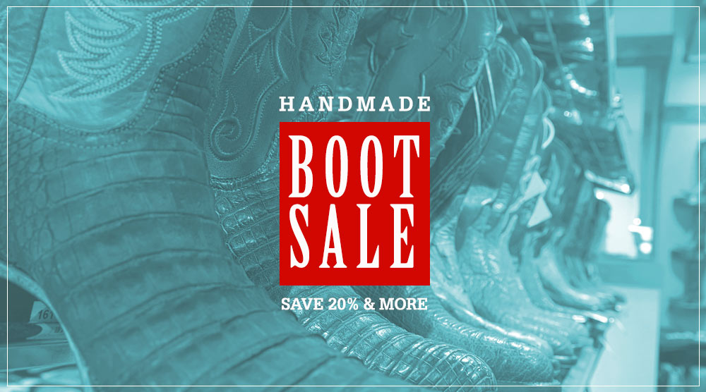 Handmade Boot Sale!