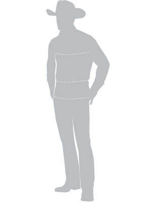 sizechart mens illustration