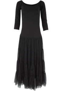 Vintage Collection Jewelry Dress - Black - Front
