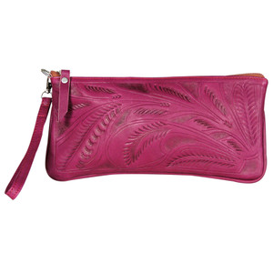 Leaders in Leather - Tooled Wristlet
