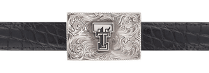 "Texas Tech University Engraved 1"" Trophy Buckle"