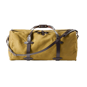 Filson Large Duffle Bag - Tan - Front