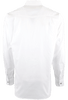 Stubbs - Mens Solid Western Shirt - White - Back