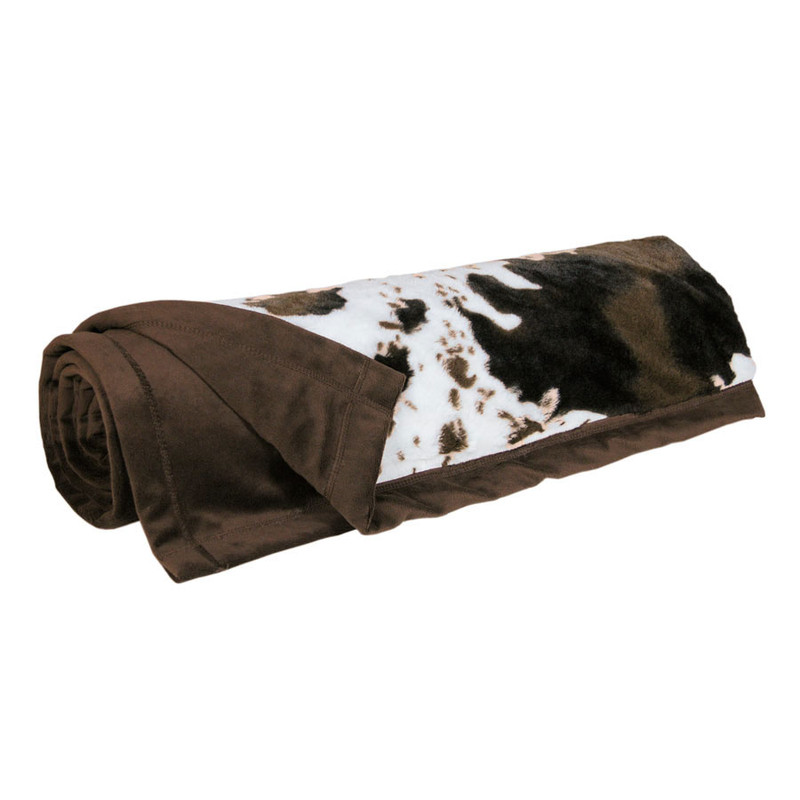 Home - Painted Horse Faux Fur Throw - Hero