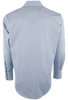 Pinto Ranch by Stubbs Classic Snap Shirt - Blue - Back
