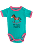Infant - Girls My Horse Rocks Onesie - Front