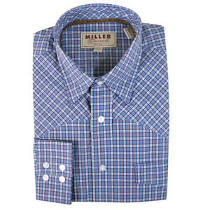 Miller Ranch - Blue Check Shirt