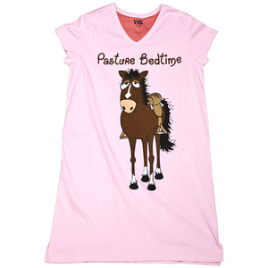 "Night Shirt - ""Pasture Bedtime"" S/M"