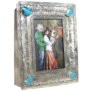 Frame - 4x6 Stamped Silver - Hero