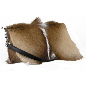 Kulu Springbock Clutch with Leather Strap - Hero