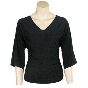 Top - Solid Color V-Neck