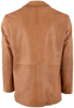 Scully Whipstitch Lamb Ranch Blazer - Tan - Back