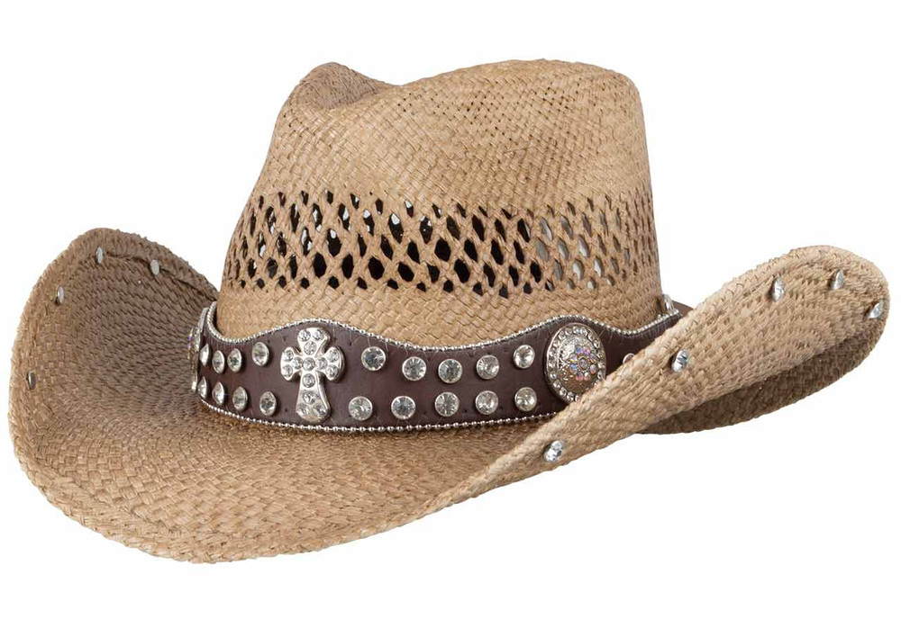 Bullhide More Than Words Straw Hat - Hero
