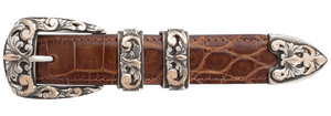 "Comstock Heritage Scroll Overlay 1"" Buckle Set"
