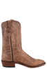 Rios of Mercedes Men's Tan Burnished Goat Roper Boots - Side