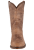 Rios of Mercedes Men's Tan Burnished Goat Roper Boots - Front