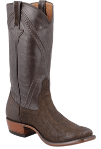 Rios of Mercedes Men's Chocolate Elephant Boots - Hero
