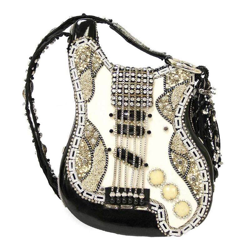 Mary Frances Graceland Guitar Handbag - Front