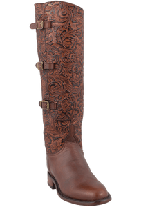 Lucchese Women's Tooled Lieutenant Boots - Hero