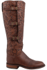 Lucchese Women's Tooled Lieutenant Boots - Side