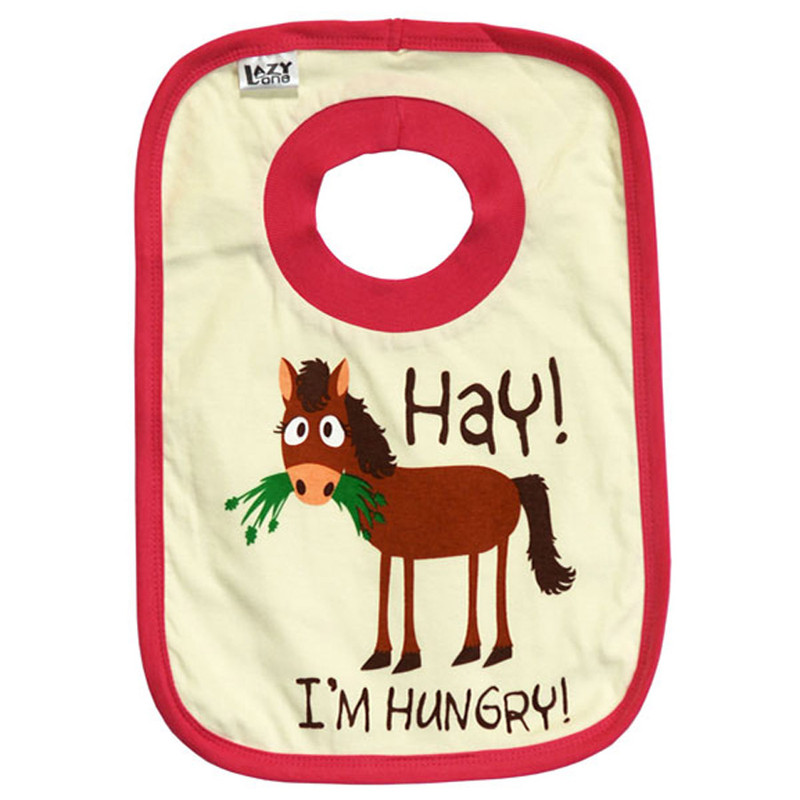 Infant - Hay! I'm Hungry! Bib