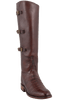 Lucchese Women's Barrel Brown Caiman Lieutenant Boots - Hero