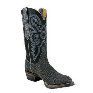 Lucchese Mens Safari Elephant Boots - Grey