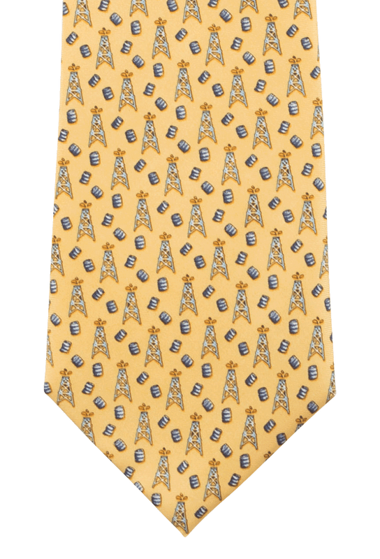 Paris Texas Apparel Co. Spindle Top Tie - Yellow