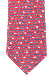 Paris Texas Apparel Co. Texas States Tie - Red