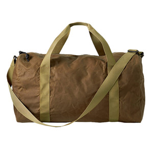 Filson Tin Cloth Medium Duffle - Tan - Front
