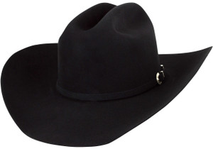 American Hat Co. 40X Cattleman Felt Hat - Black - Hero