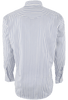 Gitman Bros. White with Gray and Blue Stripe Shirt - Back