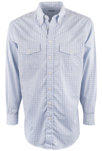 Gitman Bros. Grand Blue Check Shirt - Front