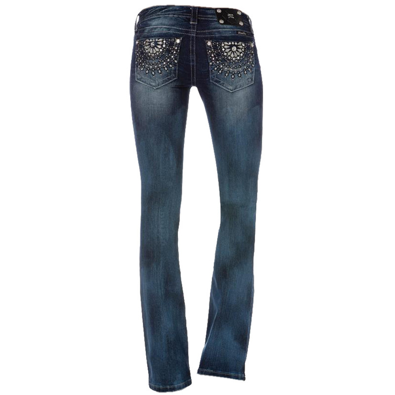 Miss Me - French Ferriswheel Boot Cut Jeans - Pinto Ranch