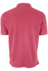 True Grit Short Sleeve Jersey Polo - Vintage Red - Back