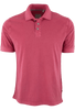 True Grit Short Sleeve Jersey Polo - Vintage Red - Front