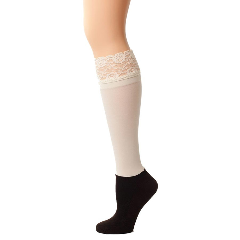 Bootights Lacie Lace Darby - Cream