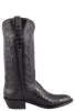 Stallion Men's Black Supreme Caiman Boots - Side