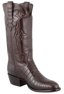 Stallion Men's Sport Rust Supreme Caiman Boots - Hero