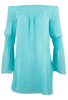 Union of Angels Zuliet Dress - Turquoise - Alternate 1