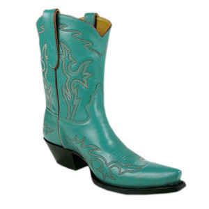 Liberty Boot Co. Ladies Santa Fe Boots - Turquoise