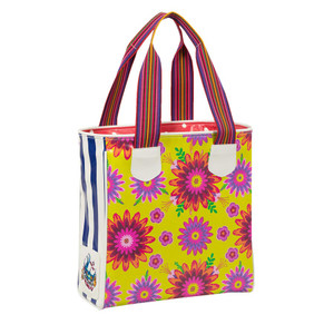 Consuela - Legacy Chartreuse Floral Classic Tote