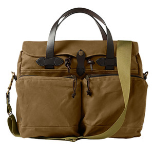 Filson 72 Hour Briefcase - Tan - Front